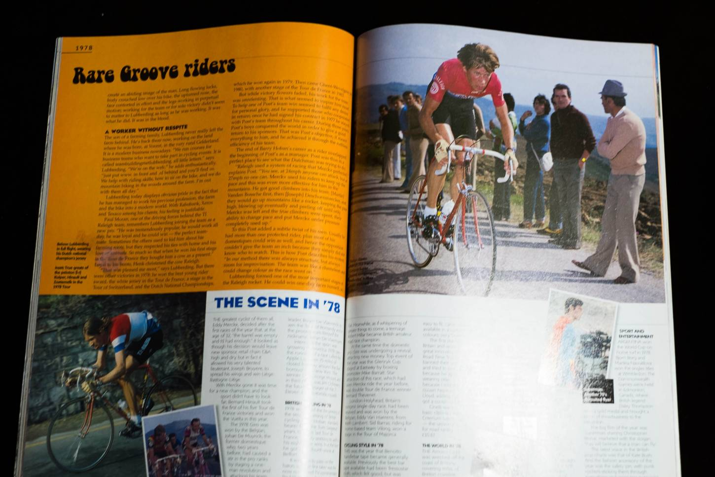 Cycle Sport Raleigh Special Magazine January 2001 Review of the Year 2000