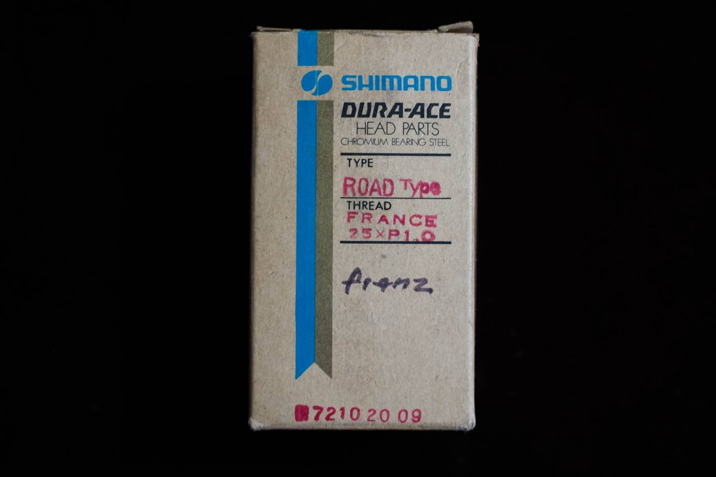 NOS Shimano Dura Ace Headset UA-100 Headset First Gen. french 25x1mm Vintage