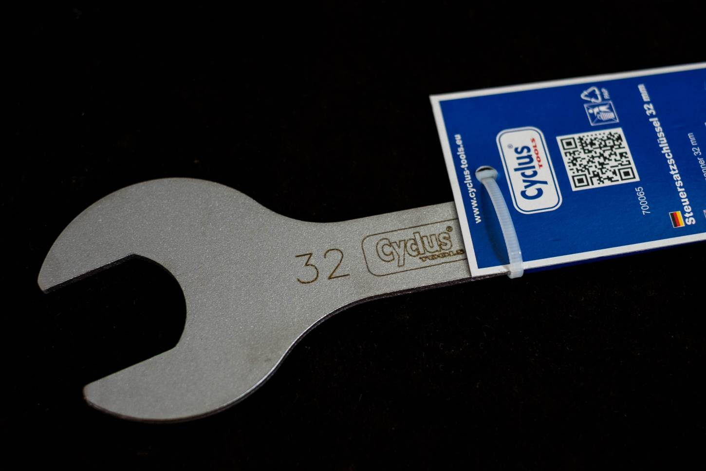 Cyclus Tools, Steuersatzschlüssel, 32 mm, Fahrrad, Schlüssel, Head Set, Spanner
