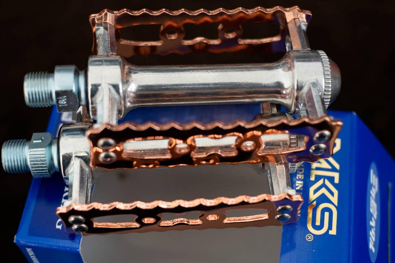 MKS Touring Copper Pedale Kupfer Platten