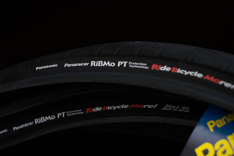 "Panaracer RIBMO PT Reifen 26"" Tyres schwarz 26x 1.25"" + 1.50"" + 1.75"" Draht"