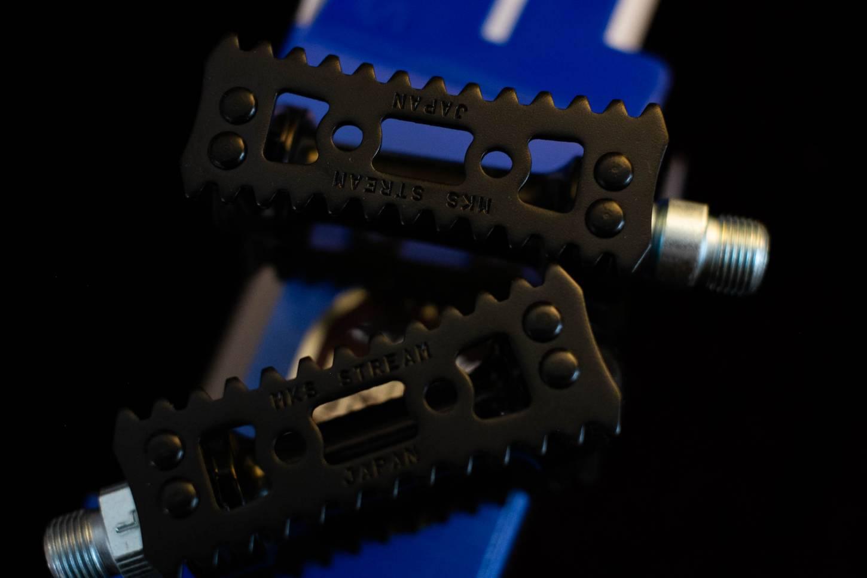 MKS Sylvan Stream Pedale Limited Edition schwarz Rennrad