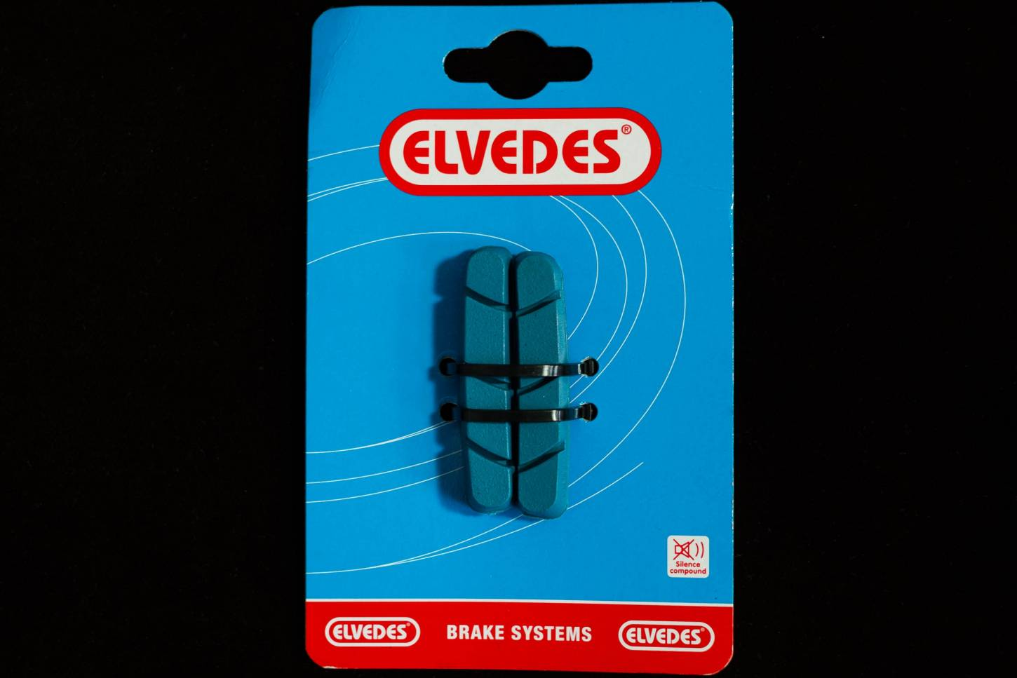 Elvedes replacement brake pad for carbon rims Campagnolo + Shimano Road Brake Pads