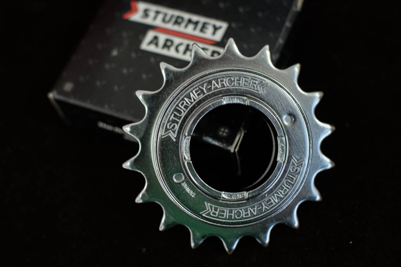 Sturmey Archer pignoni a ruota libera 16, 17, 18, 19, 20Z per catena sottile 1/2 x 3/32