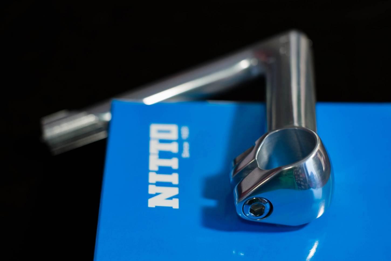 Nitto NP 26mm Vorbau Stem 25,4 oder 26 mm Klemmung silber, schwarz