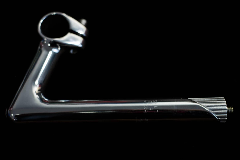 """Vorbau Rennrad Orion 1"""" Zoll Schaft silber poliert 25,4 mm Klemmung in 60-80 mm"""