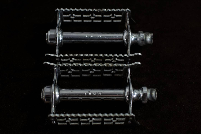 Dürkopp pedals for steel crank