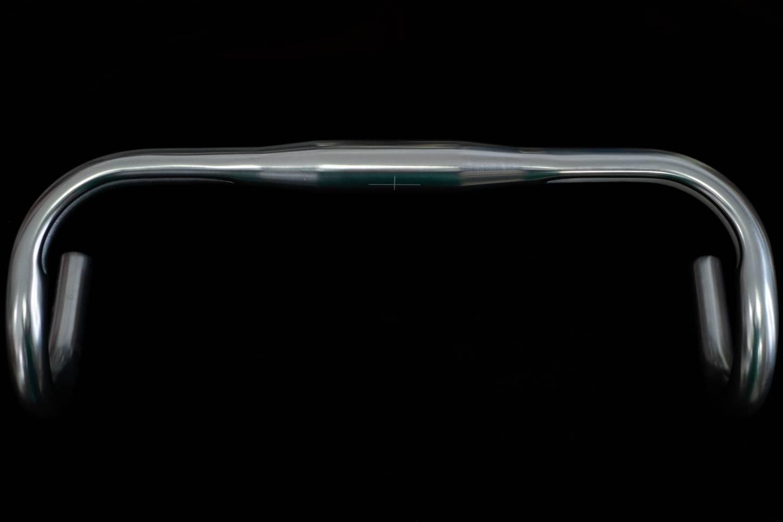 Zoom Rennlenker 31,8mm Klemmung Breite 42cm M/M Dropbar Silber glänzend