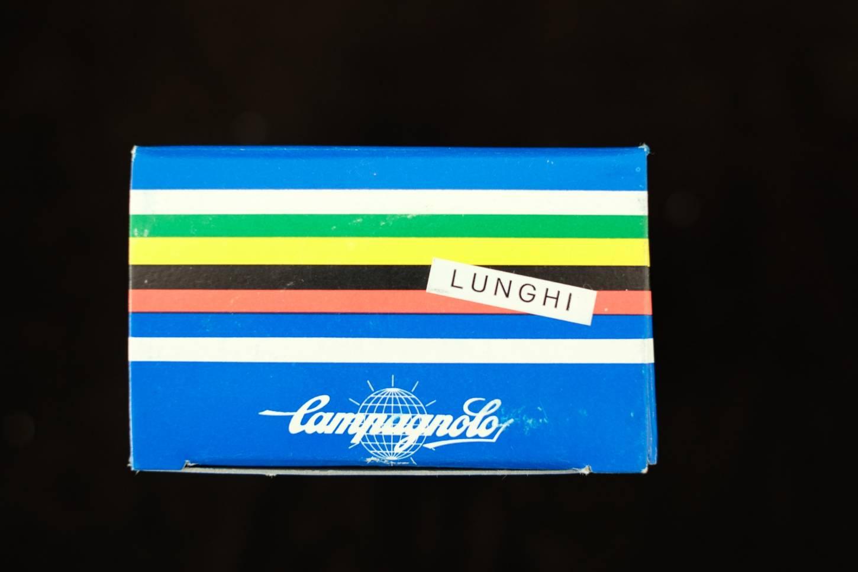 NOS Campagnolo Superleggeri Toe Clip Super Record Pedalhaken Aluminium L