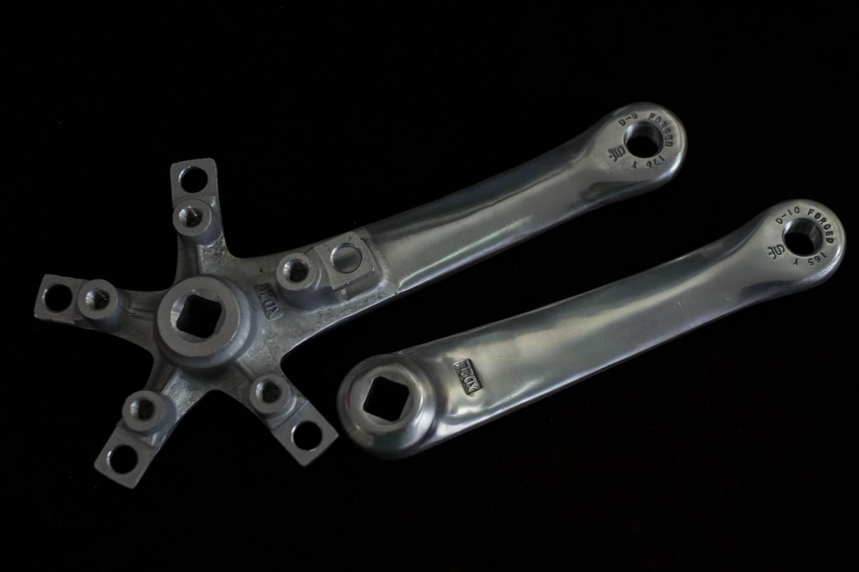 Sugino XD, 2 Kurbel, Crankset, 3-Fach, 175 mm, 110 LK, silber