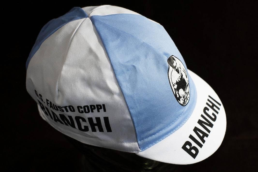 "Bianchi Kappe ""Cycling Cap"" Schirmmütze Radlermütze"