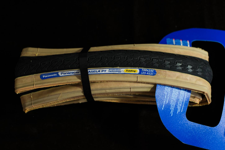 Panaracer Pasela PT folding tyre beige / black 700 x 28C + 25C + 23C