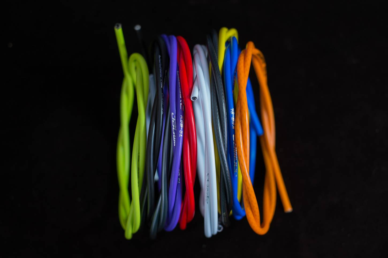 Jagwire KEB - SL Kevlar *Reinforced Series* Bremszugaußenhülle diverse Farben