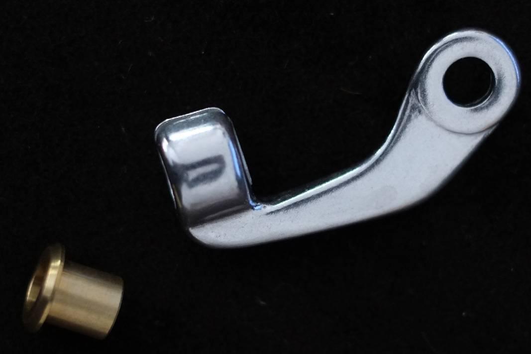 Bremszug Gegenhalter Kabelhänger für Sattelklemme Bolzen Aufnahme