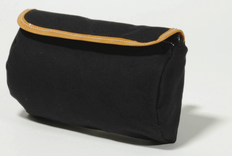 Gilles Berthoud 288 Satteltasche Gepäcktasche Saddle Bag grau + schwarz
