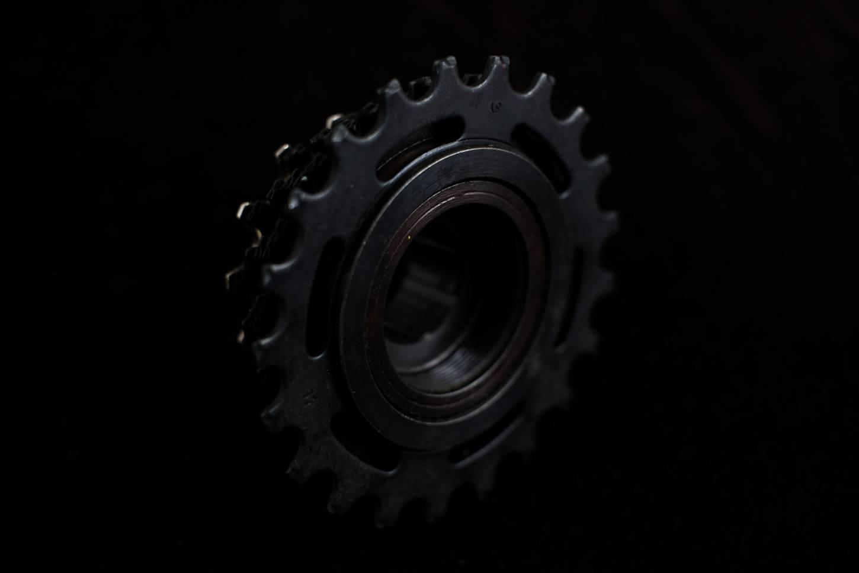 "7 compartment NOS Sachs Maillard screw ring ""Freewheel"" 13-21 Z black"