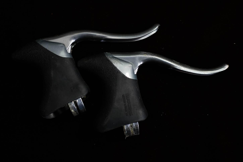 Shimano Exage 500 EX Bremshebel Aero Aluminium Vintage Rennrad