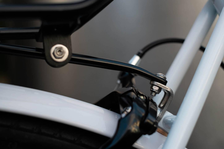 Tubus - Racktime Set für Klassik Bremssteg Montage Befestigungsstrebe Klemmblock