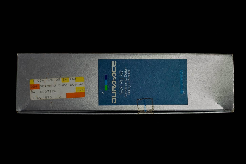 Shimano Dura Ace Sattelstütze Seatpost SP-7400-B 26,6 mm Aero Seat Pillar Vintage Rennrad