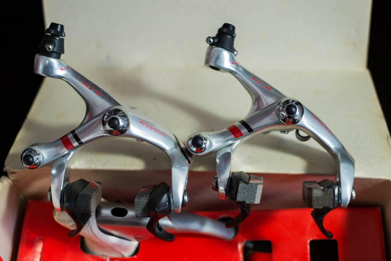 NOS Modolo ALX 90 Bremsen Set + Bremshebel HI-TECH Vintage Rennrad NIB