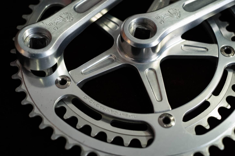 Campagnolo Gran Sport crank set Strada 52/42T 170 mm 144 BCD crankset vintage road bike