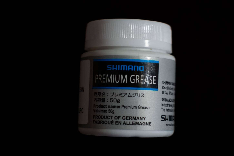 Shimano, Dura Ace, Spezial Fett, Premium Grease, 50 Gramm, Dose Lagerfett, Fahrrad,