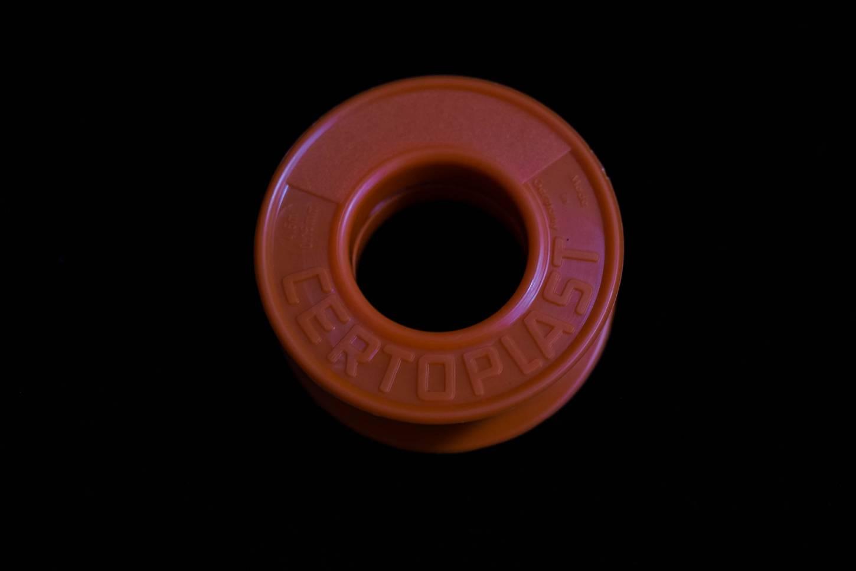 Certoplast Isolierband schwarz Kunststoff Klebeband 15 mm Lenkerabschlußband