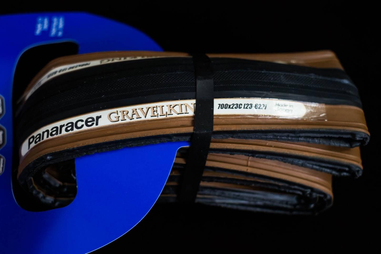 "Panaracer Gravelking Slick Faltreifen schwarz/braun 28"" Zoll 700C 23/26-622 Tyre"