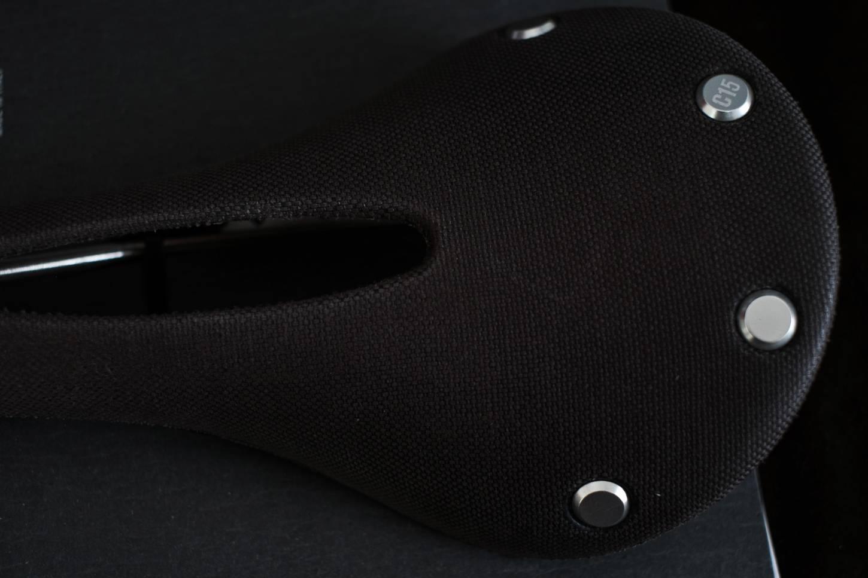 Brooks Cambium C15 Carved Sattel Saddle - Farbe in: Slate + Black verfügbar!
