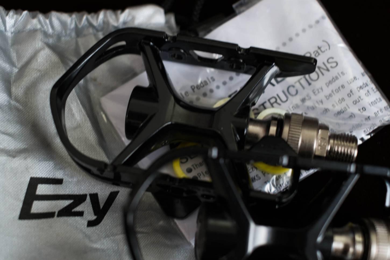 MKS Pedale AR-2 Ezy Steckpedal Bajonettverschluss schwarz Road Bike