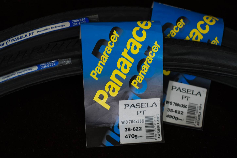 Panaracer Pasela PT Reifen schwarz 700 x 38C + 32C + 28C + 25C
