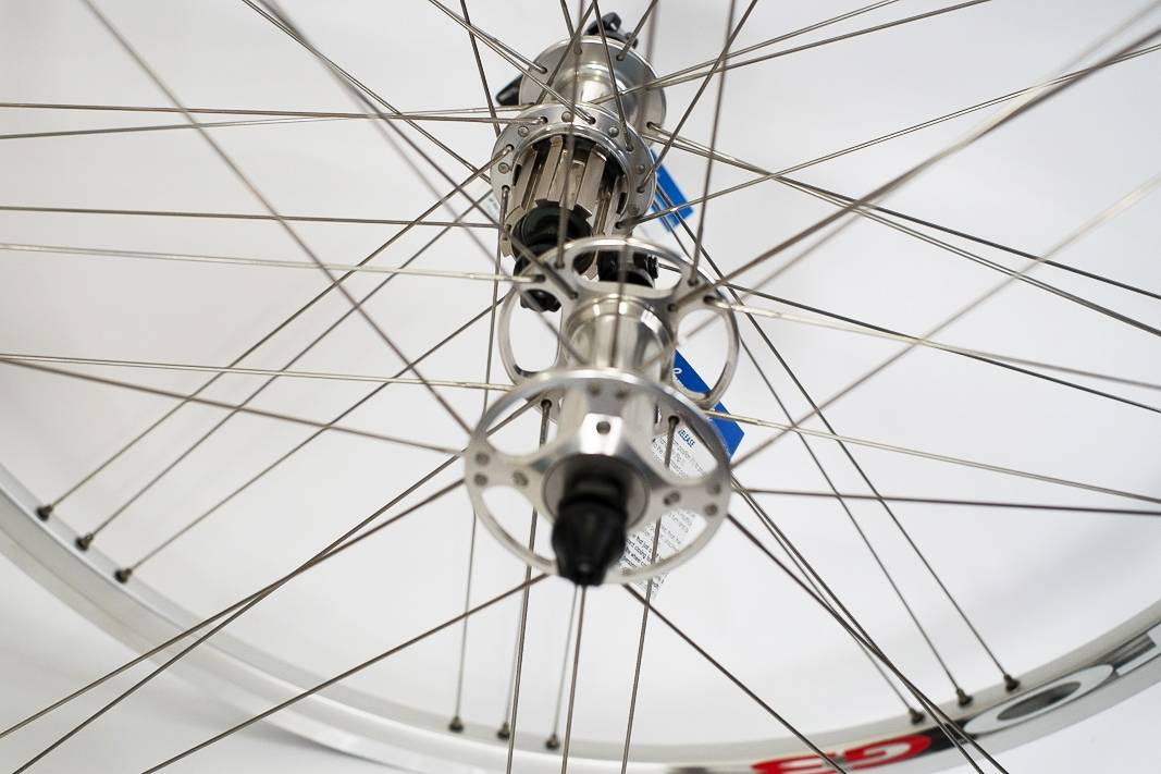 Campagnolo Vento G3 Laufradsatz VR + HR in silber - silver - 9 bis 11 Fach