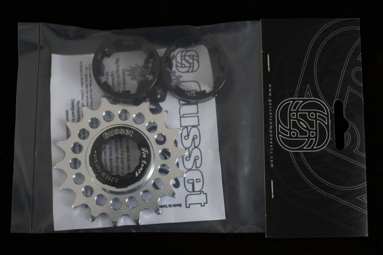 Gusset 66C, Single Speed, Converter Kit, für Campagnolo, Kassettennaben, 1/2 x 5/64,