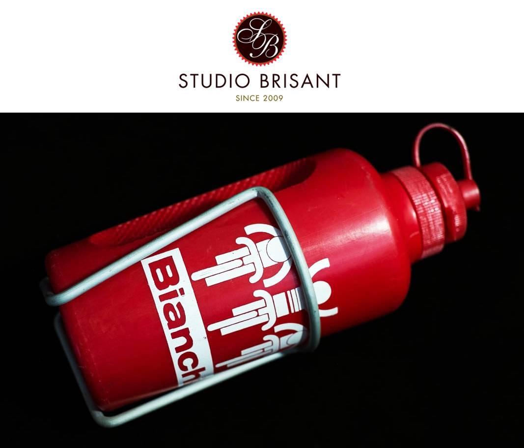 Bouteille d'eau Bianchi Mariplast Bouteille d'eau rouge avec porte-bouteille Cosmos