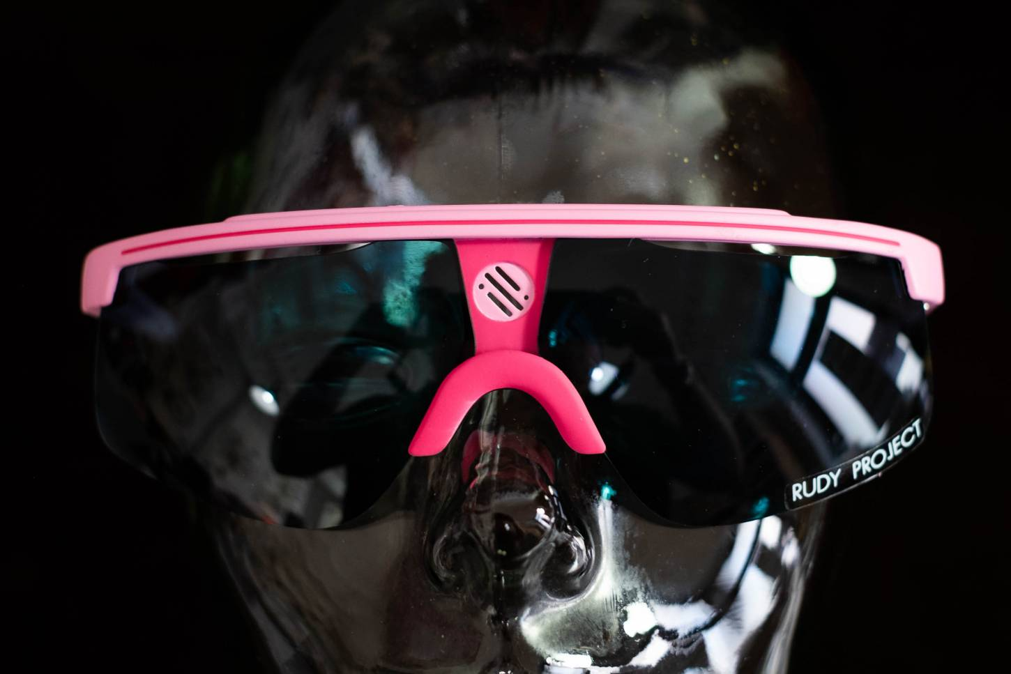 NOS Vintage Rudy Project Brille 80's L'Eroica Cycling Sunglasses-Rosa Rot