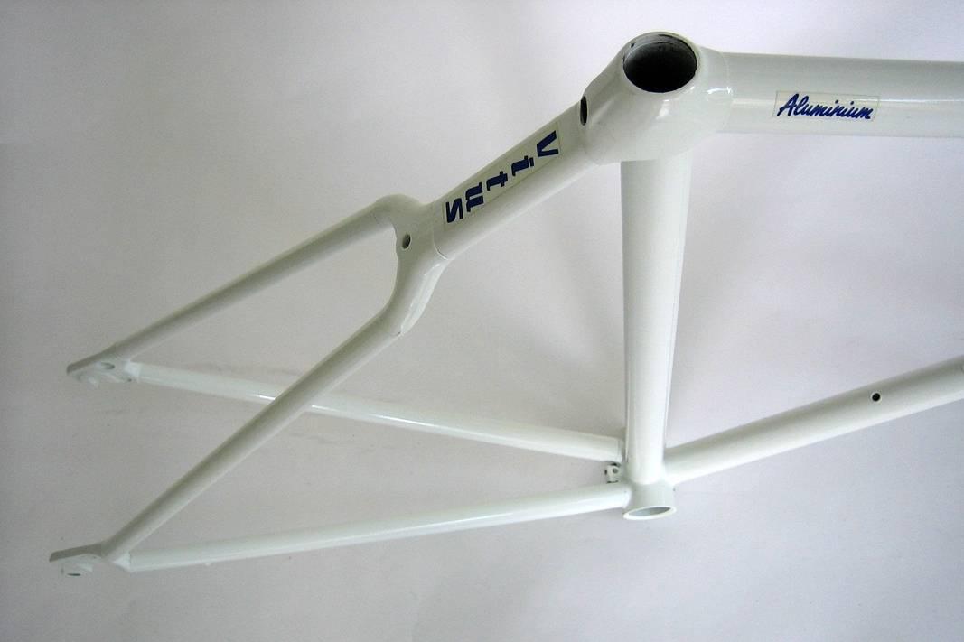 NOS Vitus 787 Futural Aluminium Rahmen Rohrsatz