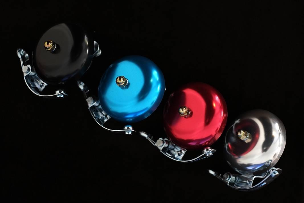 Retro Style Rennrad Glocke / Klingel eloxiert