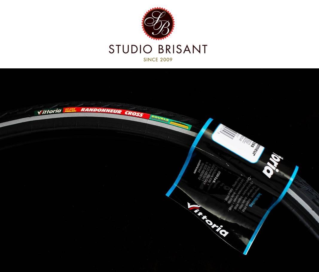 Vittoria Randonneur Cross Reifen 37-622 schwarz in 37mm Double Shielding Tyre
