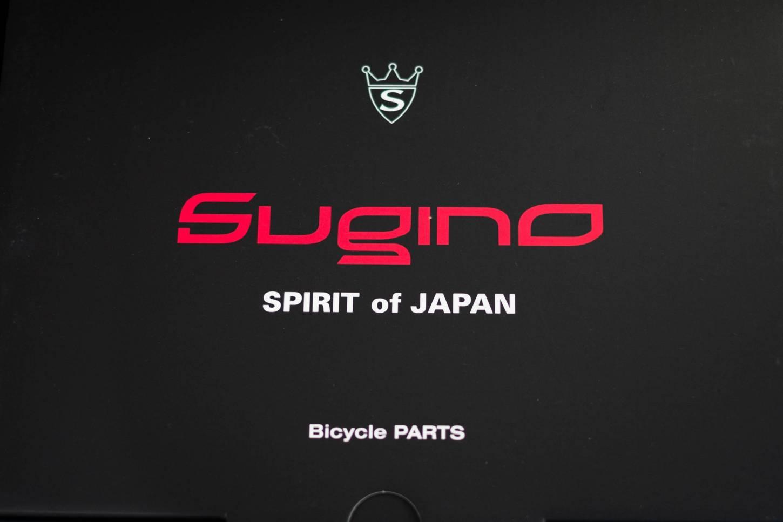 Sugino, Mighty Tour, Kurbel Set, 2 Fach, PE110S, 170,175 mm, in 52/36 50Z34Z -4