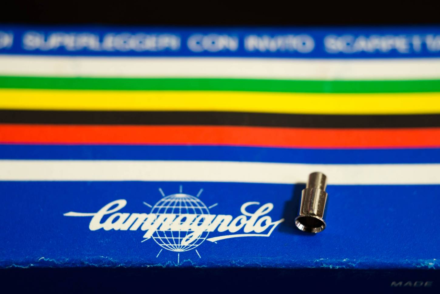 NOS Campagnolo End Cap Shift Housing for Braze-on Stop End Ferrule #620