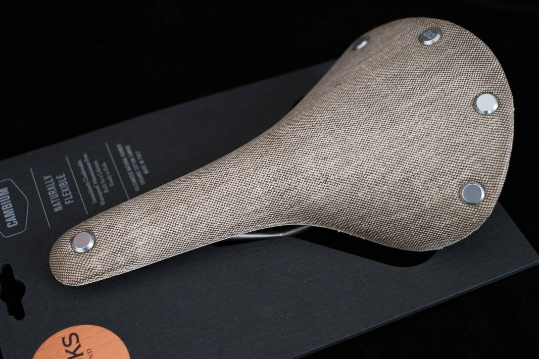 Cambium C17 Brooks Sattel Saddle - Farbe: Natural + Slate + Rust + Black
