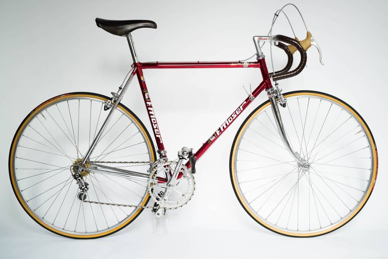 Francesco Moser Cromovelato Rennrad Roadbike Full Camapgnolo Super Record