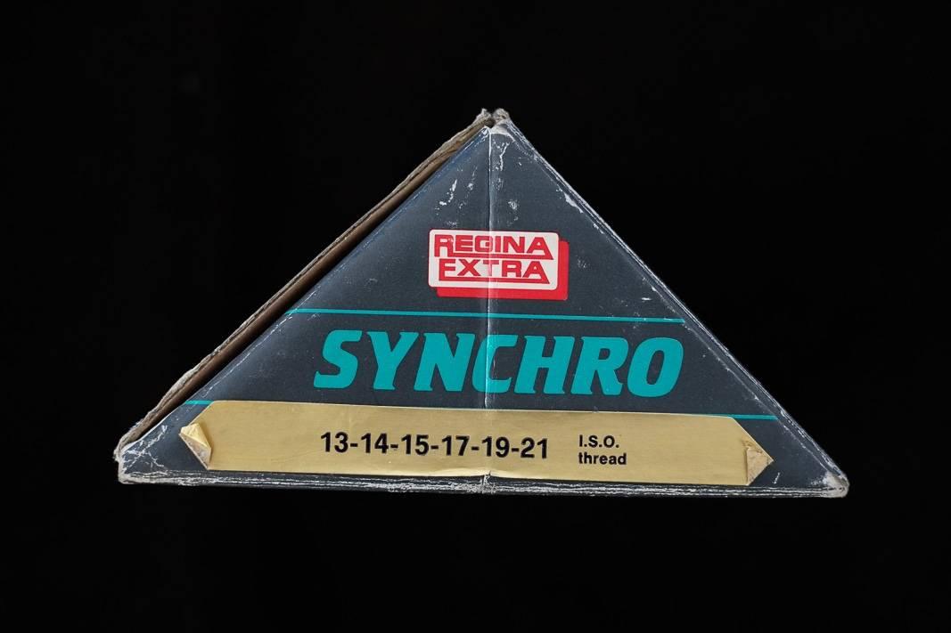 """6 Fach NOS Regina Synchro Oro Schraubkranz """"Freewheel"""" Eroica 13-21 Z"""