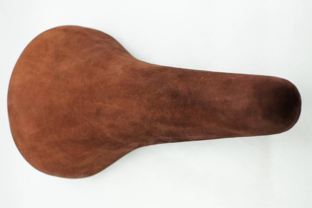 "NOS Union Sapparo saddle ""Saddle"" in reddish brown"