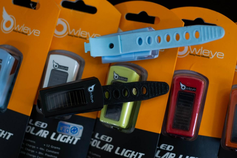 Owleye 1 LED Anstecklicht Solar Light 15 Lumen Head Light