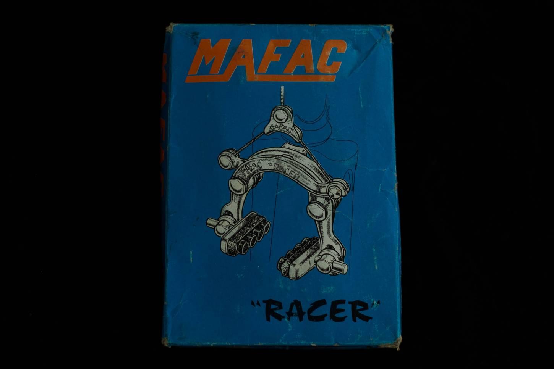 NOS Mafac Racer juego de frenos cable central Tuerca con palanca de freno Vintage