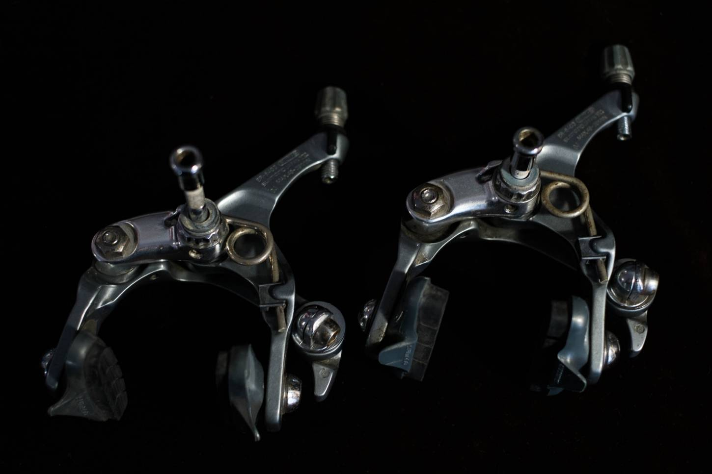 Shimano 600 Ultegra Bremsen Set BR-6403 Brake Calipers Set Vintage Rennrad
