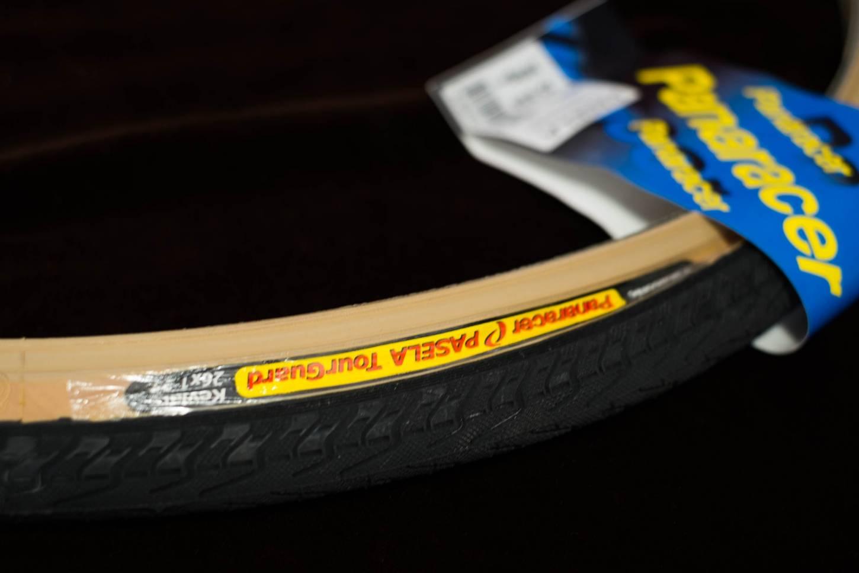 "Panaracer Pasela TG Reifen 26"" Tour Guard Kevlar beige-schwarz 26x 1.25"" Tyres"