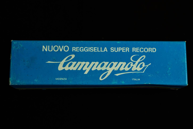 Reggisella NOS Campagnolo Super Record reggisella NOS Campagnolo Super Record 25,8 mm in alluminio scanalato lucido Reggisella Vintage Rennra