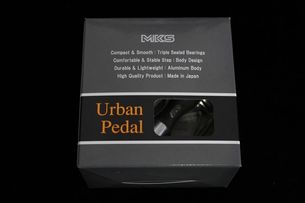 MKS Urban Plattform Pedale / Silber + Schwarz